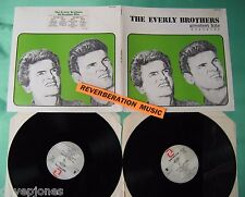 THE EVERLY BROTHERS (20) Greatest Hits Portugal 1980 2 LP gatefold Set