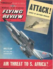 RAF FLYING REVIEW SEP 61 B-58_AVRO ANSON_MS-760 PARIS_RCAF CF-104_PIAGGIO P.108A