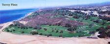 Torrey Pines Golf Course La Jolla San Diego Aerial Panorama  Poster  #22