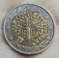 〰️2 Euro Münze〰️ (FEHLPRÄGUNG❕) Frankreich 2000