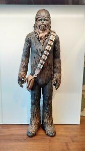 "Star Wars Chewbacca 20"" Custom Painted Figure"