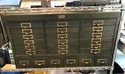 Vintage Artist Cabinet Allsteel General Fireproofing Metal W/Brass Youngstown OH