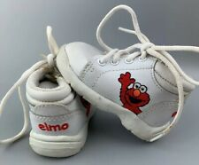 Vintage Sesame Street Elmo Baby Shoes Toddler Size 2 Sneakers Embroidered Elmo