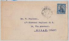 59577  - TRINIDAD & TOBAGO   - POSTAL HISTORY:  COVER to ITALY - 1921