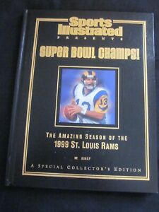Sports Illustrated Super Bowl Champs 1999 St. Louis Rams Collector's Edition~EC