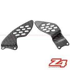 2004 2005 2006 Yamaha R1 Rearset Foot Peg Mount Heel Guard Plates Carbon Fiber