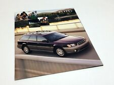 2001 Subaru Outback H6-3.0 Brochure