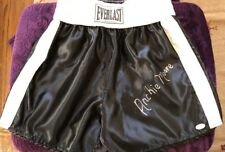 Archie Moore The Mongoose Autographed Signed Everlast Boxing Trunks JSA COA