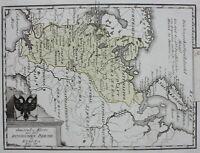 RUSSIA, 'Karte von dem Russichen Reich in Europa Nro. 60', Von Reilly, c.1790