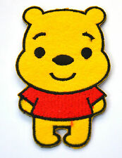 WINNIE THE POOH BEAR HUNNY  Embroidered Iron Sew On Cloth Patch Badge  APPLIQUE