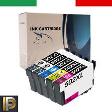 5 Cartucce T502XL Compatibili Per Epson WF-2860/2865 XP-5100/5105