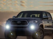 Bumper Fog Lamps Driving Lights Kit w/ Built-In DRLs for 2012-2017 Toyota Tacoma