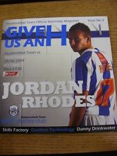 29/08/2009 Huddersfield Town v Yeovil Town  (Item In Good Condition)