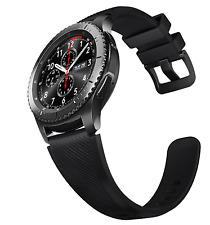 SAMSUNG GALAXY GEAR S3 SM-R765 Frontier Bluetooth Wifi Black New Condition