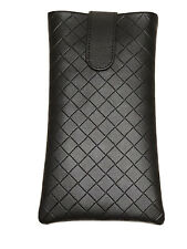 NEU Original Bottega Veneta Sonnenbrillen Etui Dunkelbraun Darkbrown iPhone Case