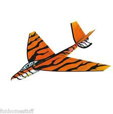 25 Inch 3D FlexWing Nylon Glider TIGER STRIPES Easy to Fly Indoor Outdoor Toy