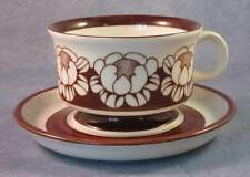 ARABIA OF FINLAND, Katrilli, Vintage, Coffee Cup & Saucer, Excellent Condition