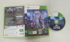 AFL Live Xbox 360 PAL Version