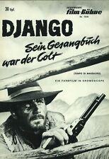IFB 7578   DJANGO - SEIN GESANGBUCH WAR DER COLT   Franco Nero   Topzustand