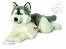 Lying Husky Plush Soft Toy by Teddy Hermann Collection. 92782