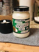 Trader Joe's Organic Triple Filtered Coconut Oil 16 oz