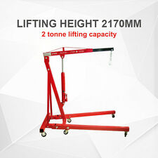 *QLD PICKUP* 2 TONNE FOLDING HYDRAULIC ENGINE WORKSHOP CRANE HOIST LIFT