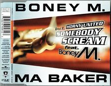 "BONEY M / Horny United - 5""CD - Ma Baker / Somebody Scream (Mixes) Sash"