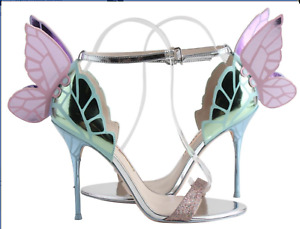 SOFIA WEBSTER Chiara Sandal Heels 8.5 Box & Bag Incl.