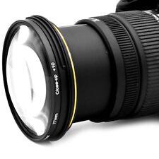 77mm Professional Close-Up Macro Filter Set Photography Lens Kit +1 +2 +4 +10 AZ