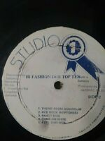 Dub Specialist ‎– Hi Fashion Dub Top Ten Vinyl LP STUDIO 1 DUB