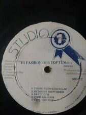 Dub Specialist – Hi Fashion Dub Top Ten Vinyl LP STUDIO 1 DUB