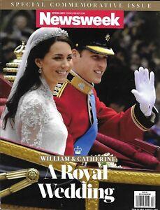 Newsweek Magazine Kate Middleton Prince William Royal Wedding Queen Elizabeth