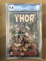 Thor #152 9.4 OW/W CGC Ulik & Destroyer, Inhumans, Kirby Art Marvel Comics Cates