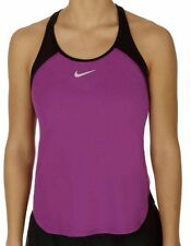 NIKECOURT Women's Tennis Dry Slam Tank Colour Purple/Black Size Small