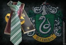 Harry Potter Slytherin House Silk Tie Collectable Replica Clothing Apparel