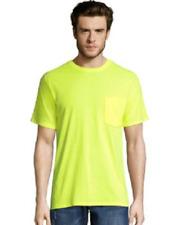 Hanes Men X-Temp® Fresh IQ™ Workwear Pocket Tee 4 Colors Size 2XL XL Lg Med Sm
