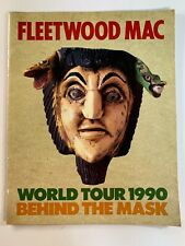 Fleetwood Mac 1990 Behind The Mask World Tour Concert Tour Program with Tickets