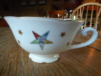 Vintage OES Eastern Star Masonic Temple Temple Treasures Tea Coffee Cup