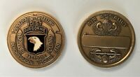 US Army 101st Airborne Air Assault Challenge Coin #1 (82nd XVIII SF Ranger)