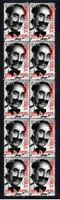 GROUCHO MARX, MARX BROTHERS STRIP OF 10 MINT VIGNETTE STAMPS 4
