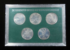 1974 Germany World Cup Commemorative Coin Set - 5 Coins