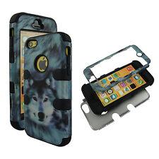 Hybrid Tuff Siberiab Husky Wolf Apple iPhone 5C  Case Cover  Protector