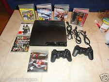 Sony PlayStation 3 PS3 320GB, 2x Wireless Contr., 7 Spiele, 1 Jahr Garantie