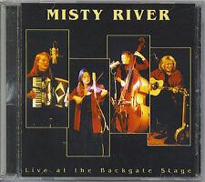 MISTY RIVER - LIVE AT THE BACK GATE STAGE - MINT CD