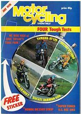 M'cycling Monthly July 1978 Honda CB400T Ducati Darmah 900 Suzuki GS1000 DT175