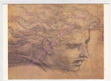 CP Postcard TABLEAU RAPHAËL Etude Ange pour Héliode chassé du Temple