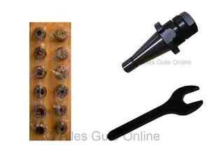 Mandrin Porte Pince SA30 DIN2080 ER20 + Jeu de 12 Pinces ER20 HL + Clef A #013