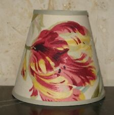 Laura Ashley GOSFORD - Medium Handmade Candle Clip Lampshade Wall/base