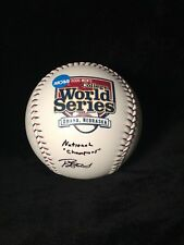 2006 College World Series Signed Baseball Oregon State Beavers Autograph Casey