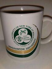 Binghamton University New  York NY Collectible Coffee Mug Collegiate College
